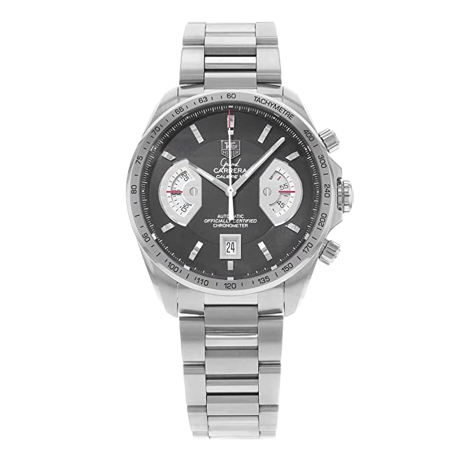 TAG Heuer Men's CAV511A.BA0902 Grand Carrera Chronograph Calibre 17 RS Watch