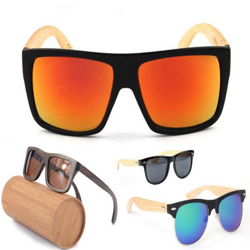 Zoom Wooden Sun Glasses - Wooden Sunglasses Buy