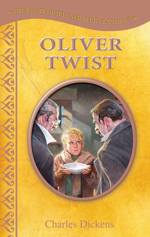 Illustrated Classics Hardback Children/'s Story Book Oliver Twist