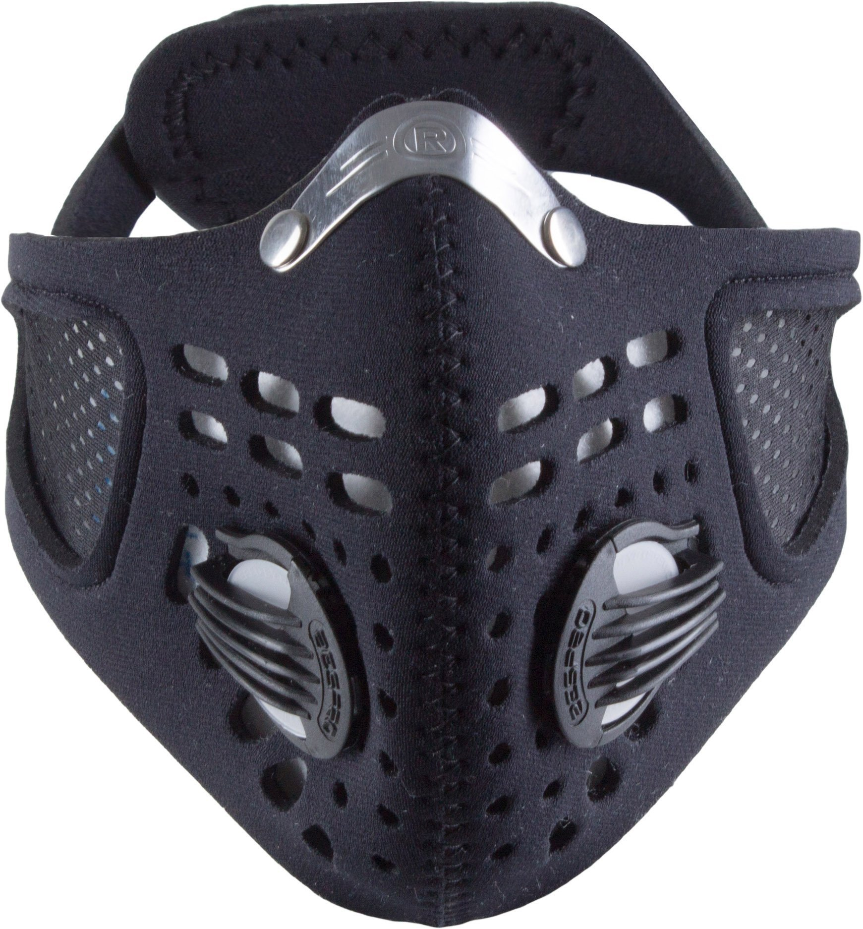 Respro Sportsta Anti-Pollution Mask - X-Large - Black by Respro