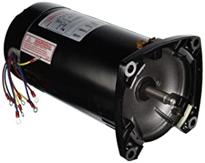 1.5 hp 3450rpm 48Y Frame 230/460 volts 3 Phase Square Flange Pool Pump Replacement Motor AO Smith El