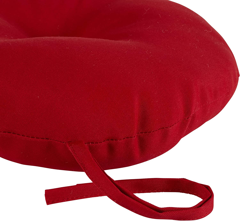 Greendale Home Fashions AZ6816S4-CARNIVAL Fiesta Stripe Outdoor Bistro Seat Cushion Set of 4
