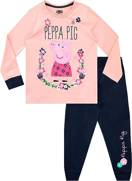 Peppa Pig Pigiama a Maniche Larga per Ragazze
