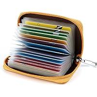 Tarjeteros para Tarjetas de Credito 26 Ranuras (Amarillo)