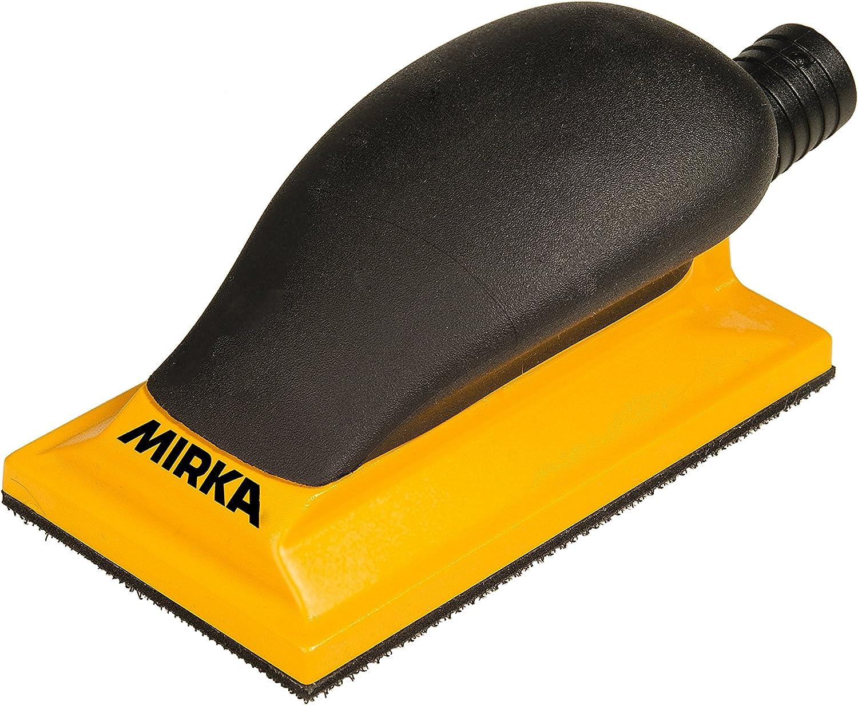 "Mirka MVHB35 Grip Faced Multi-Hole Vacuum Block, 2-3/4"" x 5"""