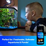 JNW Direct 7 in 1 Aquarium Test Strips - 150 Count, Best Kit for Accurate Water Quality Testing for Saltwater & Freshwater Aquariums and Fish Ponds