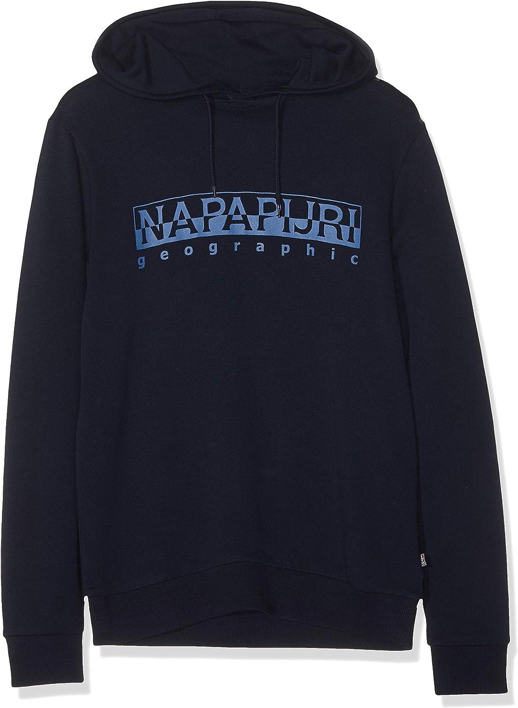 Napapijri Herren Bevora H Blu Marine Kapuzenpullover
