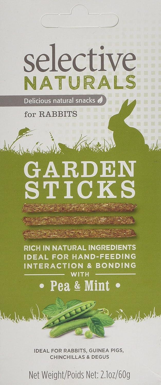 Selective Naturals Garden Bâtons pour Lapins avec Pois et Menthe Supreme Petfoods Limited 8240