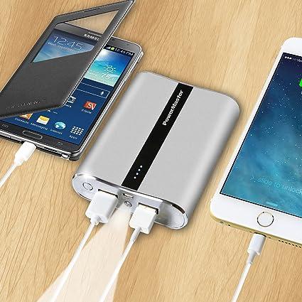 online retailer cc586 1b890 PowerMaster USB [Portable] 12,000mAh [Premium Power Bank] W/ [Dual ...