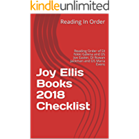 Joy Ellis Books 2018 Checklist: Reading Order of DI Nikki Galena and DS Joe Easter, DI Rowan Jackman and DS Maria Evens, Stand Alone Books and All Joy Ellis Books