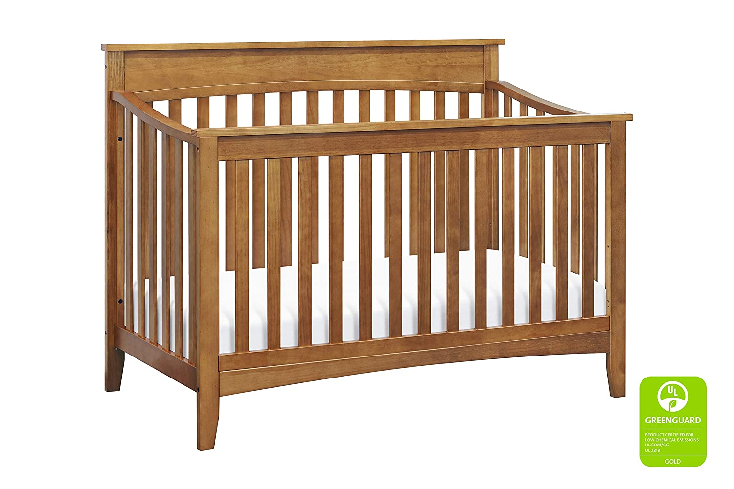 DaVinci Grove 4-in-1 Convertible Crib in Chestnut Greenguard Gold Certified