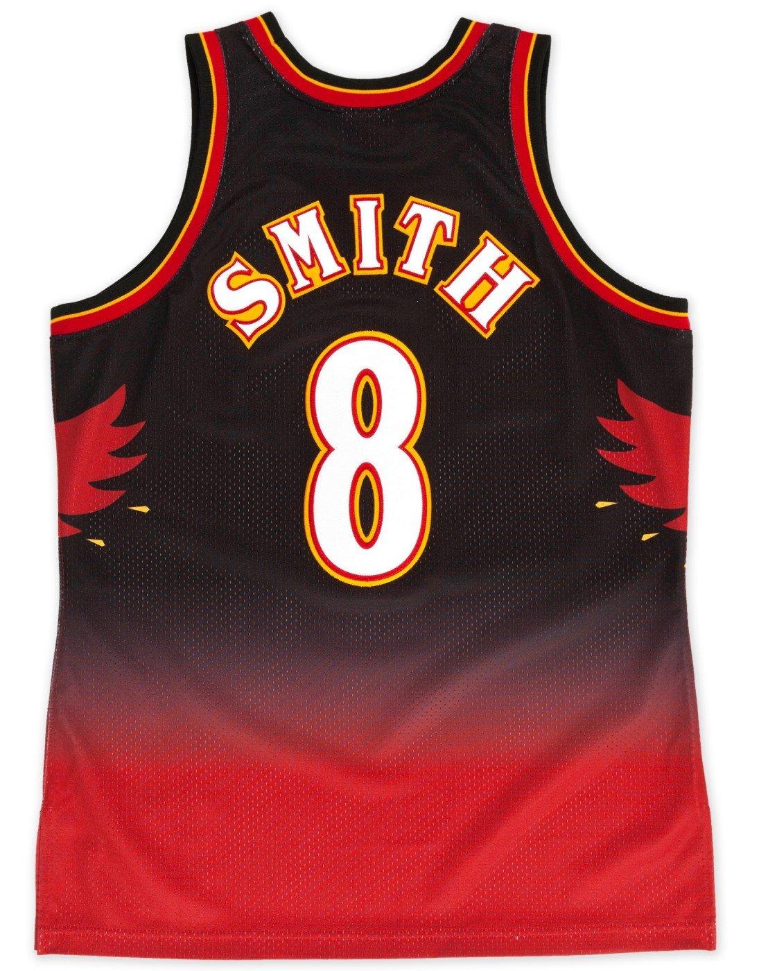 Amazon.com   Steve Smith Atlanta Hawks Mitchell   Ness Authentic 1996 Black NBA  Jersey   Sports   Outdoors 939fe8877