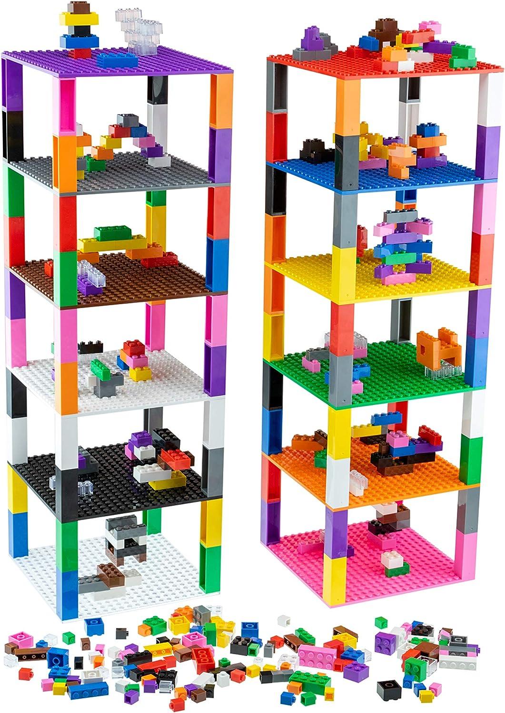 LEGO ® 50 plaques dans différentes couleurs et tailles