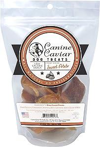 Canine Caviar Dried Sweet Potato Dog Treats