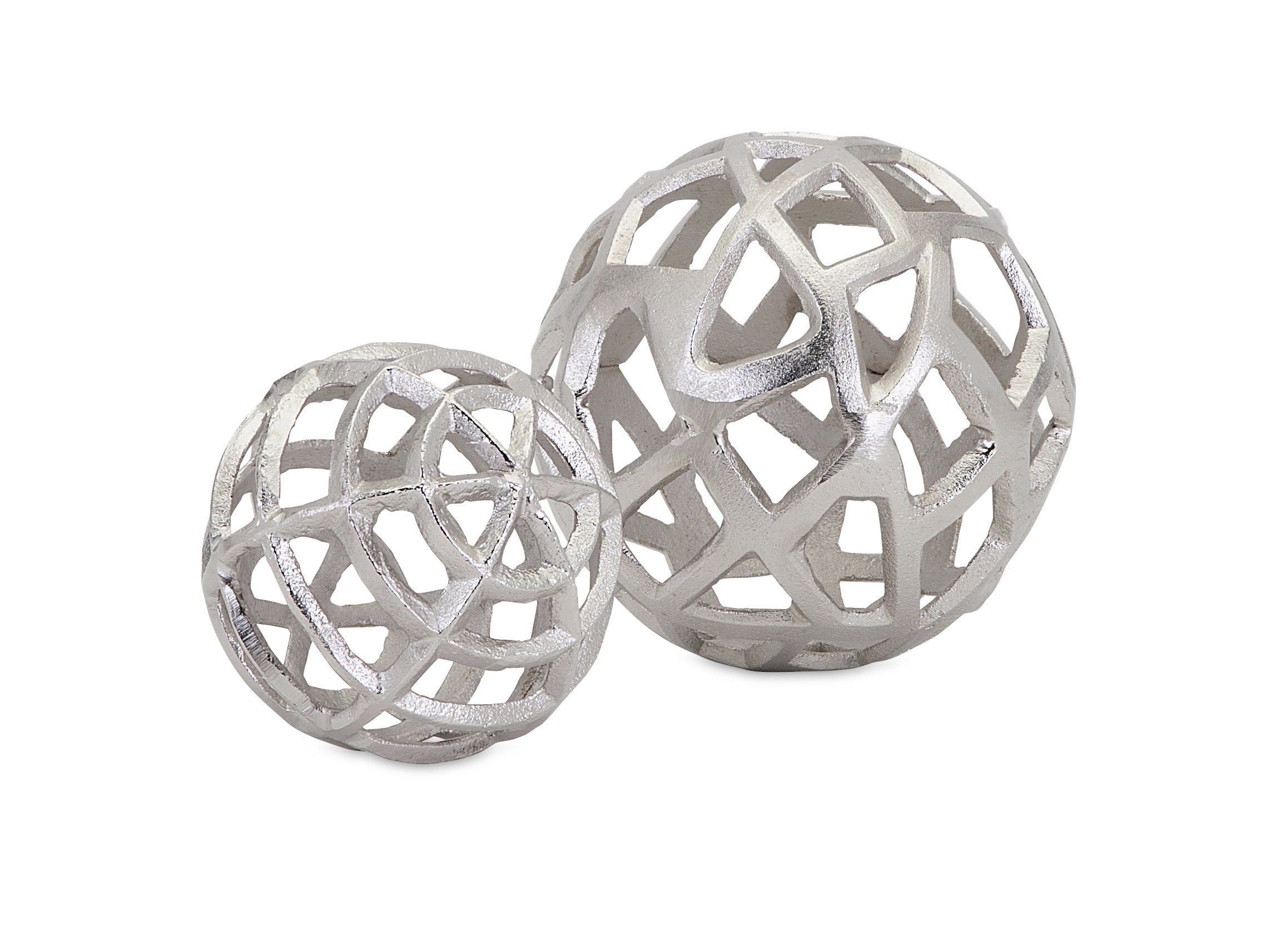 Imax Trisha Yearwood Home Collection 10464-2 Outer Banks Spheres (Set of 2)