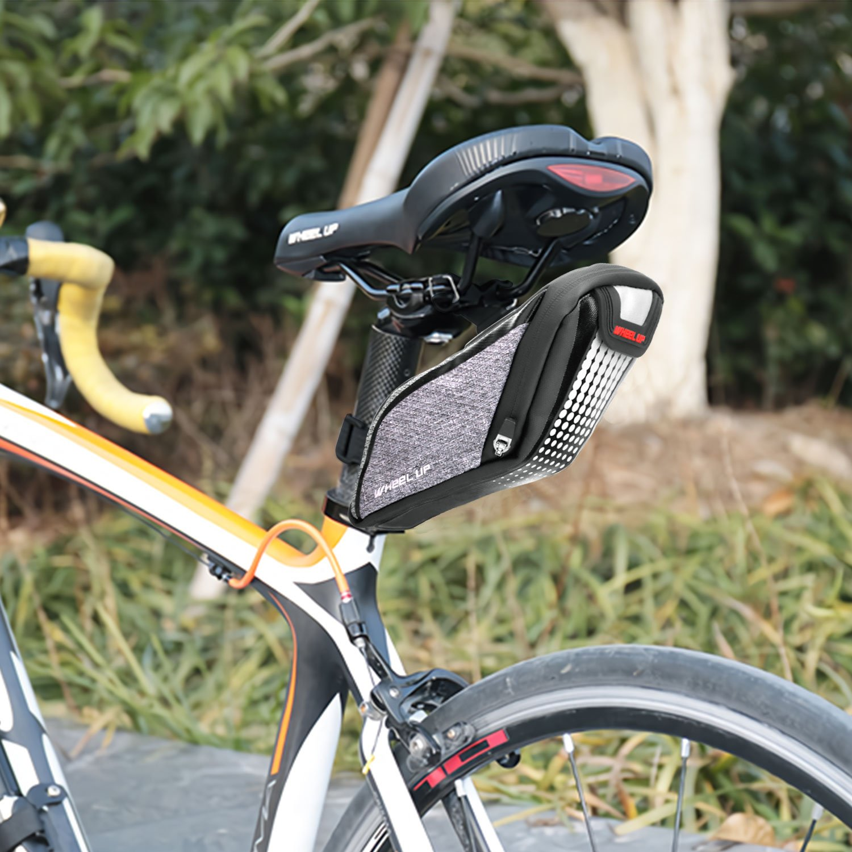 Bolsa para Sill/ín de Bicicleta MTB Pack de Suministros de Ciclismo para Bicicleta Plegable Bicicleta de Carretera Bolsa para Asiento de Bicicleta DONWELL