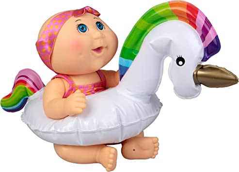 Cabbage Patch Kids Splash N' Float Doll With Inflatable Unicorn