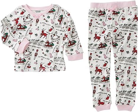 mud pie baby girls very merry christmas pajamas infanttoddler pink - Mud Pie Christmas Pajamas