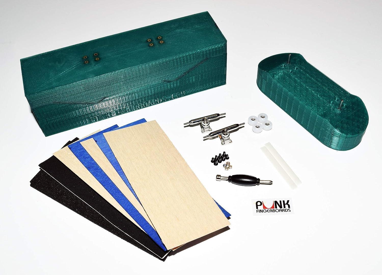IMPROVED Pro 32mm Fingerboard Mold Kit For 2 Graphic Veneer Grip Rails Boards