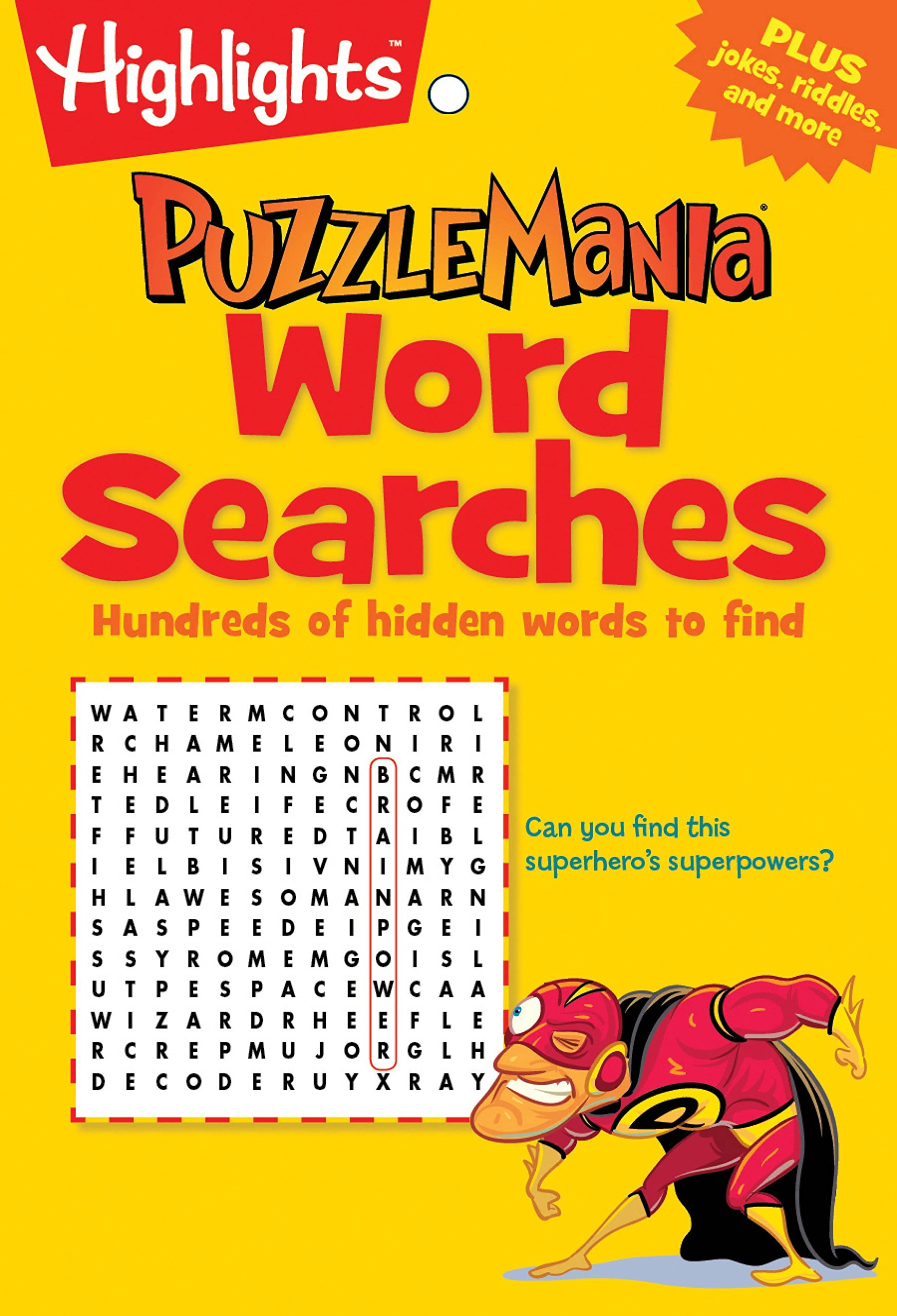 Read Online Word Searches: Hundreds of hidden words to find (Highlights™ Puzzlemania® Puzzle Pads) pdf epub