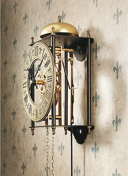 Design Toscano The Templeton Regulator Steampunk Decor Wall Clock 66 Cm Metalware Bronze Finish Amazon Ca Home Kitchen