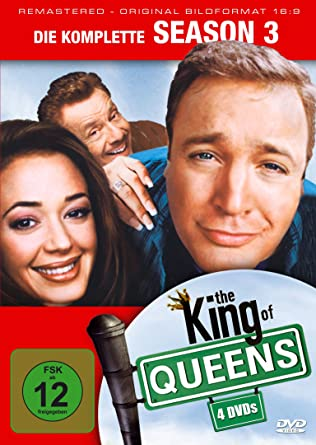 The King Of Queens Season 3 Remastered 4 Dvds Amazon