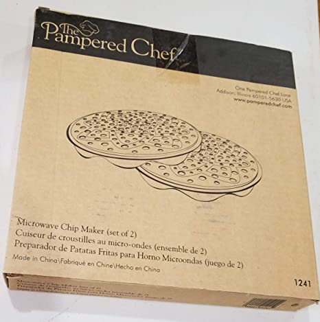 Pampered Chef Microwave Chip Maker Set