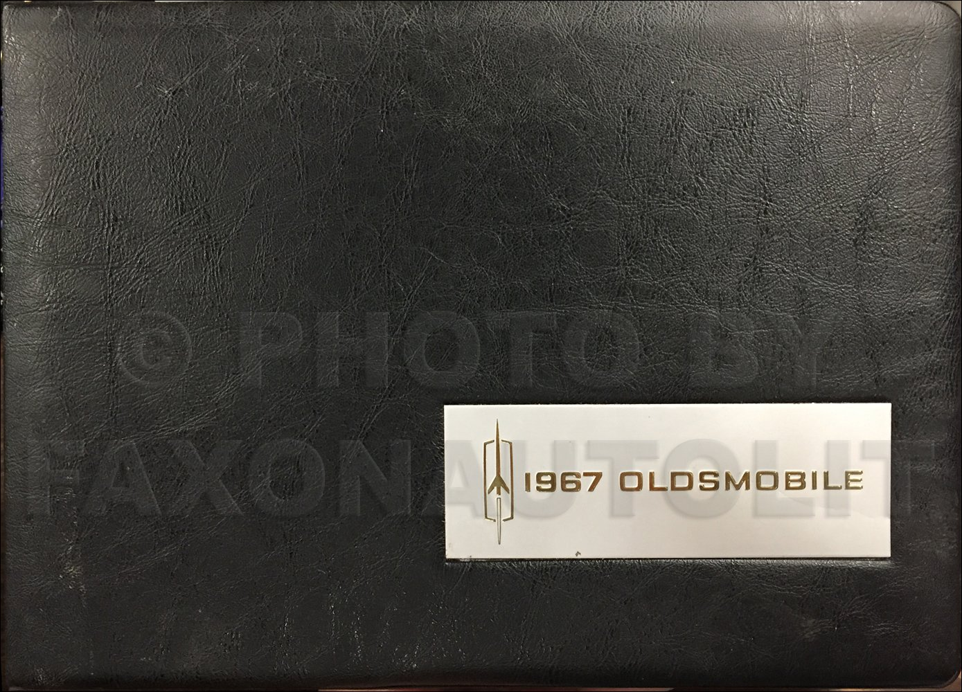 1967 Oldsmobile Color & Upholstery Album Original