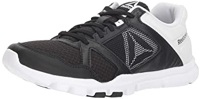 522010d5a75d Reebok Women s Yourflex Trainette 10 Mt Cross Trainer Black White 5 ...