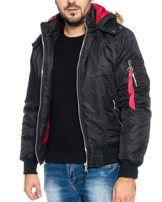 Raff&Taff Men's Down Jacket - black - X-Large