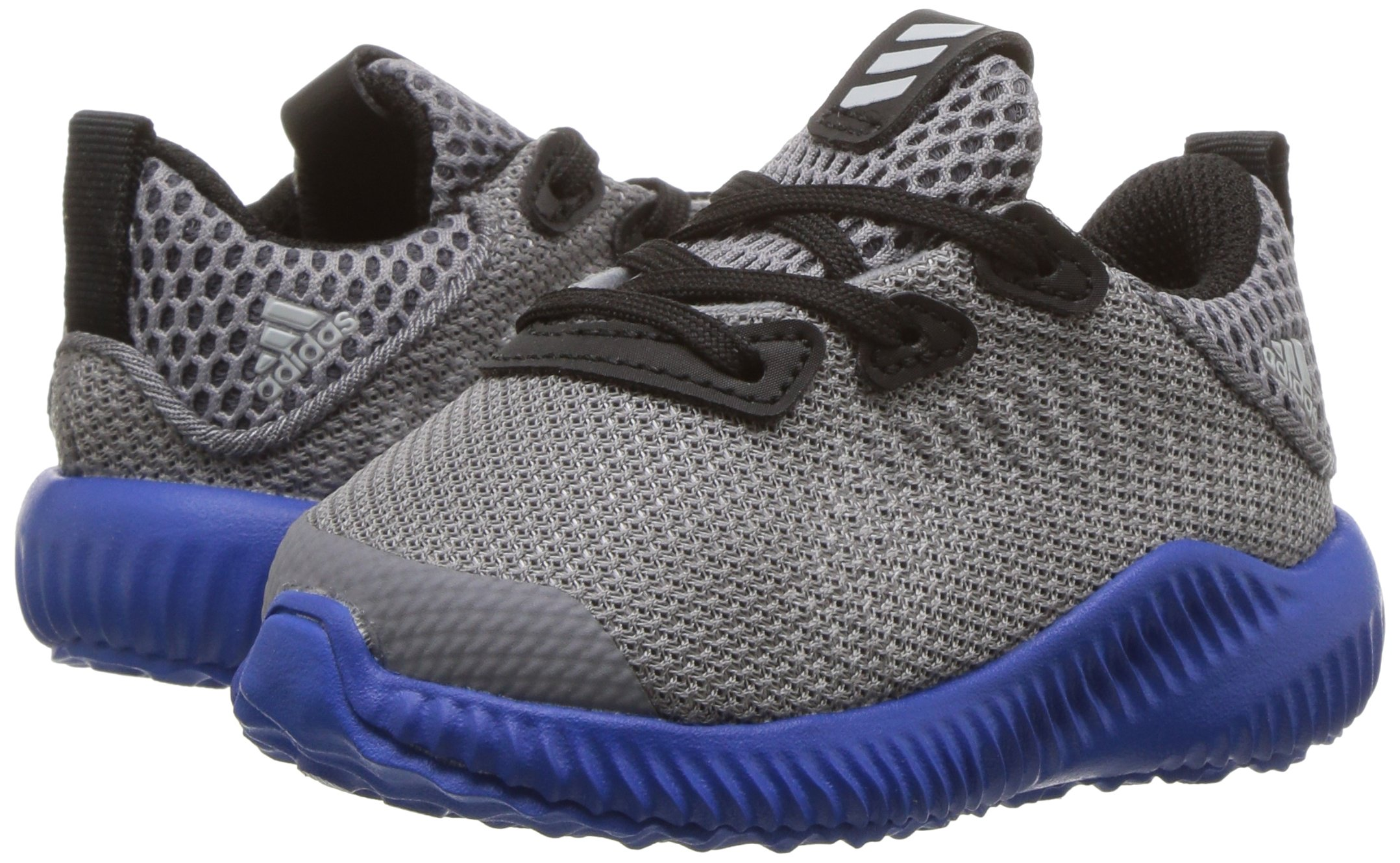 adidas Kids' Alphabounce Sneaker, Grey/Light Onix/Satellite, 7 M US Toddler by adidas (Image #6)