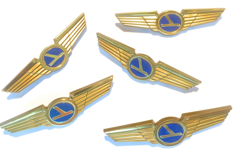 Aviator Kids Pilot Wings Plastic Pins Lot of 5