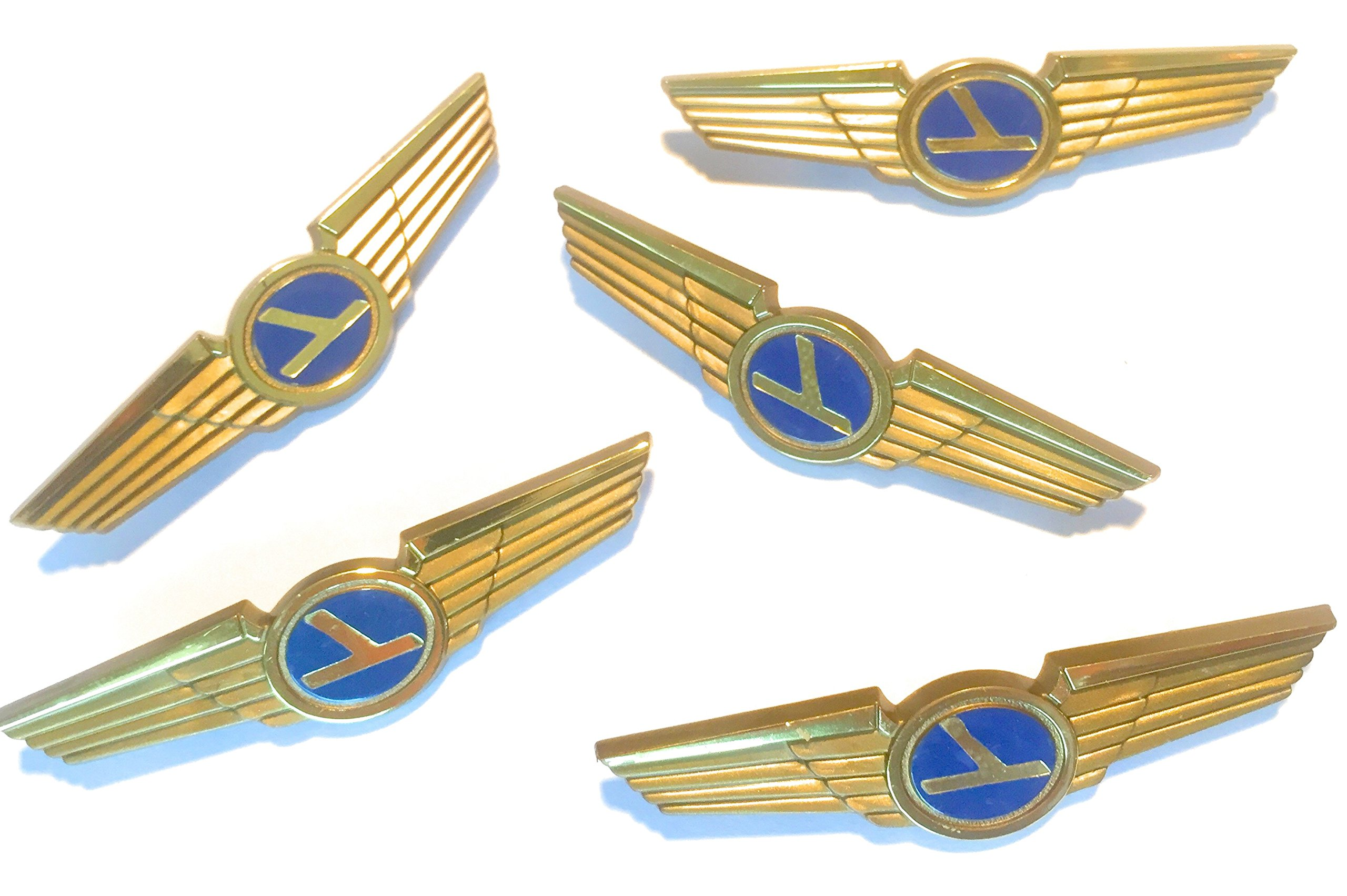 Aviator Kids Pilot Wings Plastic Pins Lot of 5