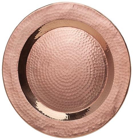 Sertodo Copper PC-12 Centerpiece Display Plate Hand Hammered 100% Pure Copper  sc 1 st  Amazon.com & Amazon.com   Sertodo Copper PC-12 Centerpiece Display Plate Hand ...