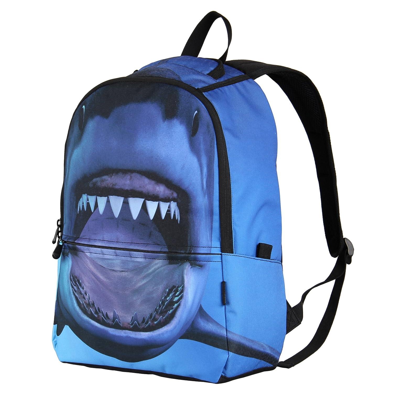 cb51b4cc5ff8 Hynes Eagle Printed Kids School Backpack Cool Children Bookbag
