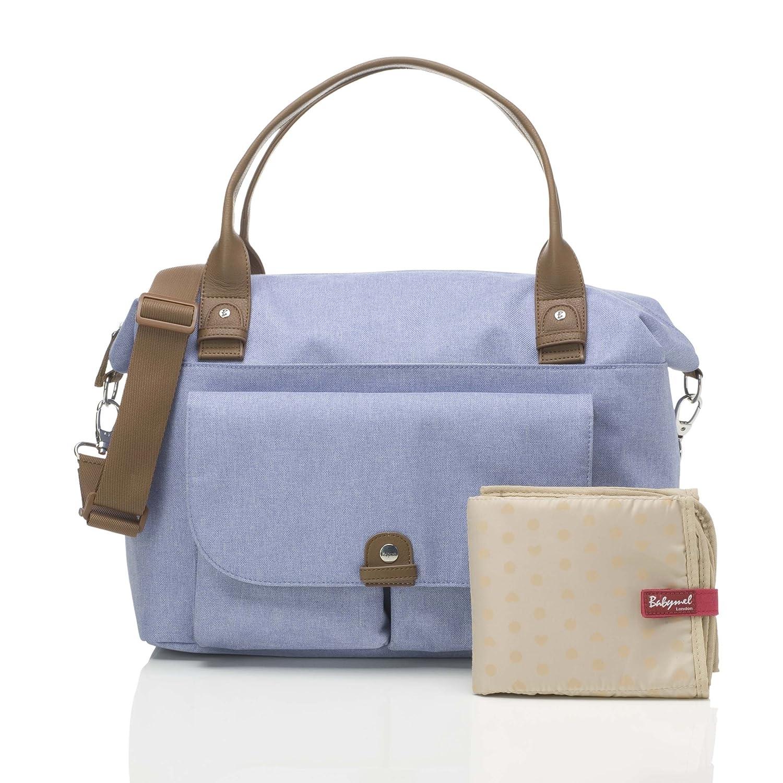 Babymel Changing Bag, Nappy Bag, Mommy Bag (Jade Bluebell BM2122 5060521022122