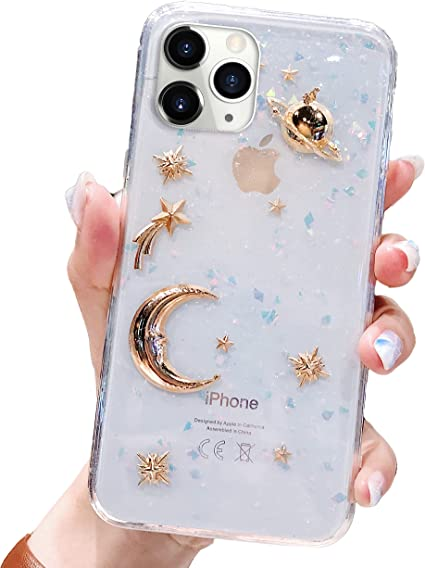 Vegan Leather iPhone Xs Max iPhone 11 Pro Space Planets Leather iPhone Case Delicate Planets iPhone Xr Case Galaxy 8 Plus Saffiano