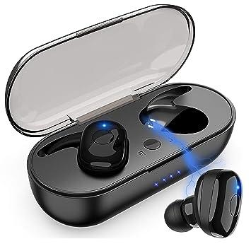 SANRF Auriculares Bluetooth, Auriculares inalámbricos Bluetooth ...