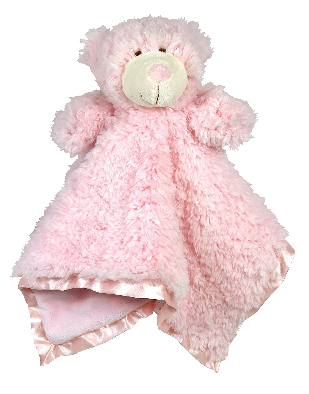 Stephan Baby Ultra Soft Cuddle Bud Blanket Bear, Blue 015128