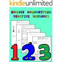Number Handwriting Practice Workbook: Master printing numbers, spelling numbers, counting, and more