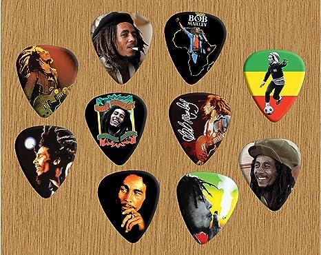 Printed púas Company Bob Marley Loose púas para guitarra ...