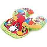 Playgro Elephant Hugs Activity Pillow (Multi Colour)