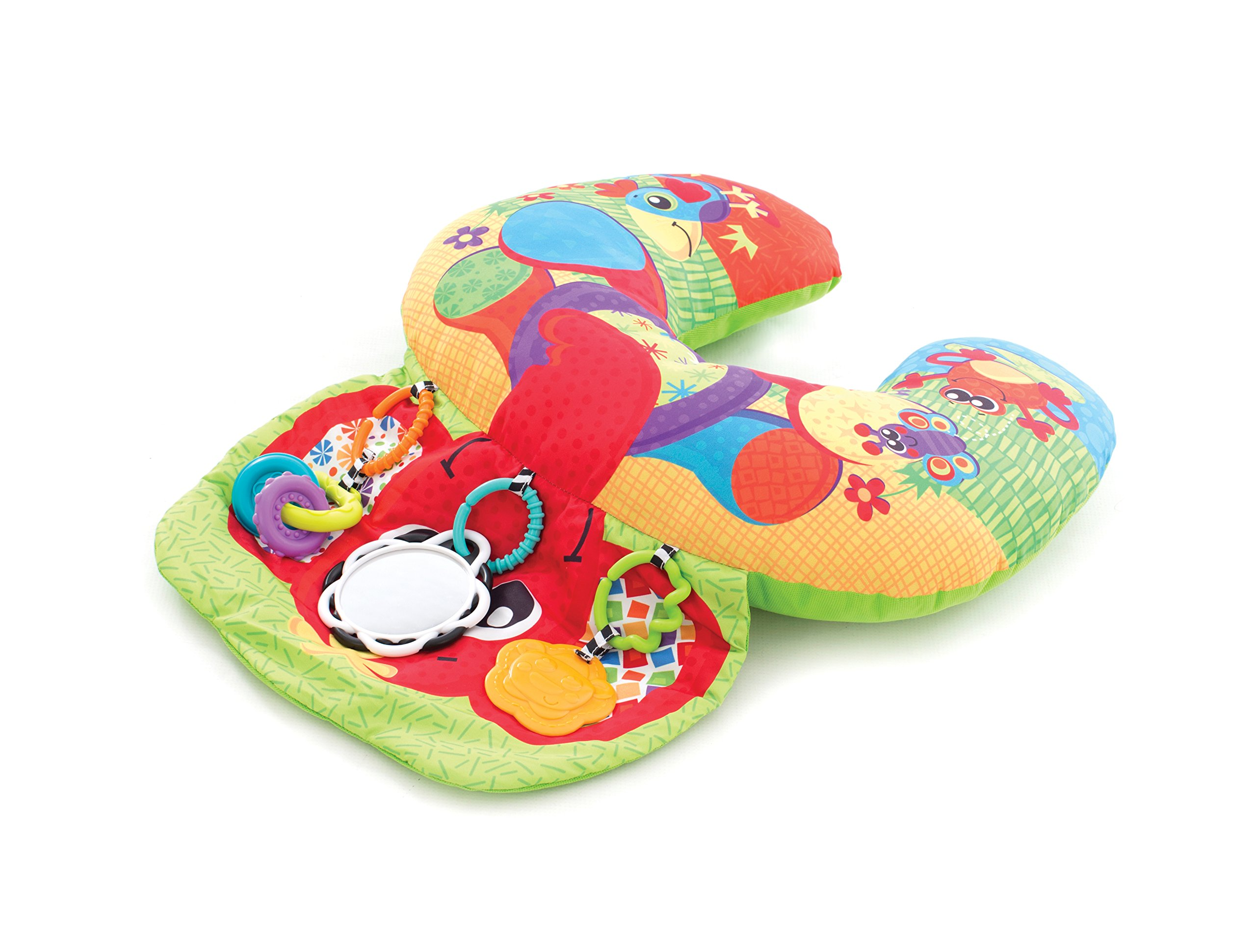 Playgro Elephant Hugs Activity Pillow for baby infant toddler children 0184570, Playgro is Encouraging Imagination with STEM/STEM for a bright future - Great start for a world of learning
