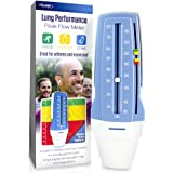 Quest AsthmaMD Lung Performance Peak Flow Meter Measures Lung Performance for Athletes, asthmatics, Breathing Lung…