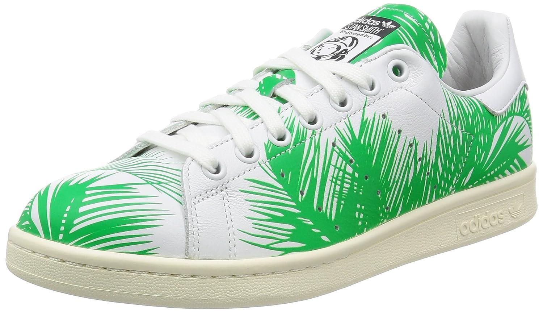 adidas Originals PW Stan Smith BBC Palm Hombres Zapatillas Blancas S82071 46.67|Multicolored