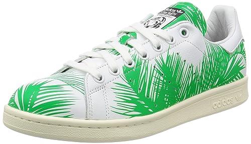 big sale 7b6d9 bed3b Adidas Originals Stan Smith BBC Palm Pharrell Williams Edition Zapatillas  de Deporte para Hombres Zapatos