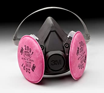 3m disposable mask p100