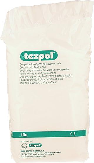 COMPRESAS TOCOGINEC TEXPOL 10 UN 0320.01: Amazon.es: Electrónica