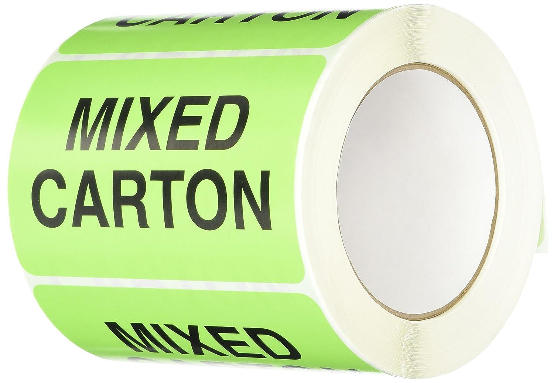 SHIPLBL-107-50 50 labels per roll TapeCase Mixed Carton // Carton Mezclado Label 1 Roll