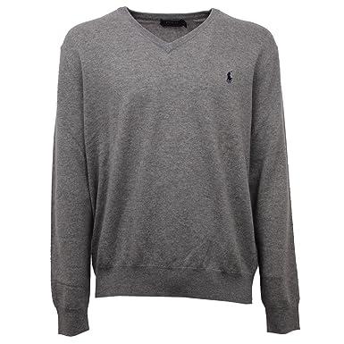 Polo Ralph Lauren Herren Pullover - grau - XL  Amazon.de  Bekleidung c400eb2ed8